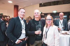 Pascal Faber (Athlon), Michael Mrozinski (Aral), Laure Rupp (Victor Buck Services) ((Photo: Patricia Pitsch/Maison Moderne))