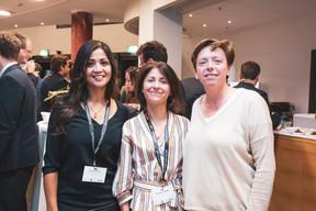 Norma Cortes (JES'tudio), Geneviève Chabot (Pami), Gaetane Meilleur (AIBM) ((Photo: Patricia Pitsch/Maison Moderne))