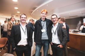 Olivier Guilloteaux (Atenor), Grégoire Mathonet (LuxTrust) et Haydar Samut (Eaglestone) ((Photo: Patricia Pitsch/Maison Moderne))