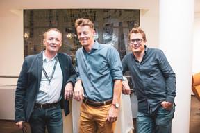Patrick Hein (Carlho), Baas Brimer et Patrick Elsen (Menuiserie Kraemer) ((Photo: Patricia Pitsch/Maison Moderne))