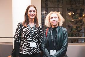 Stefania Sereni et Elise Muth (Grant Thornton) ((Photo: Patricia Pitsch/Maison Moderne))