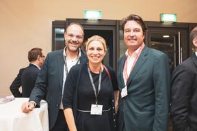 David Sibaud, Anastassia Billard (Etoile Rodenbourg), Laurent Goffin (Maison Moderne) ((Photo: Patricia Pitsch/Maison Moderne))