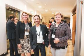 Isabelle Rösler (HTW SAAR ISCOM), Thomas Bousonville (DFHI), Anja Kastler ((Photo: Patricia Pitsch/Maison Moderne))