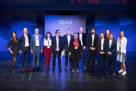 Julie Lhardit (Maison Moderne), Laurent Gouverneur (Losch), Romain Muller (Jones Lang LaSalle), Veronica Alves (Aral), François Vaille (Sogeti), Bruno Magal (KPMG), Emmanuelle Ragot (Wildgen), Mathias Fritsch (Beiler François Fritsch), German Castignani (Motion-S), Thomas Bousonville (Hochschuleinstitut), Hanna Wojtysiak (Independant Business), Vincent Hein (Fondation Idea), Tammy Ribeiro (Wunder Mobility) (Photo: Patricia Pitsch/Maison Moderne)