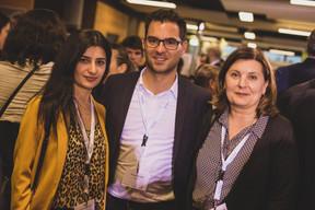 Saténik Gevorgyan,  Thomas Wilbois  et Corinne Giuliani-Boehm (Merbag) ((Photo: Lucie von Lucilin))