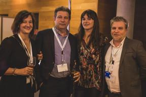 Mary Carey (PwC), Yves Jeanbaptiste (Phi Data), Julie Lhardit (Maison Moderne) et Youcef Damardji (PwC) ((Photo: Lucie von Lucilin))