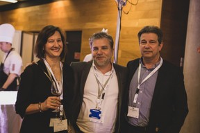 Mary Carey, Youcef Damardji (PwC) et Yves Jeanbaptiste (Phi Data) ((Photo: Lucie von Lucilin))