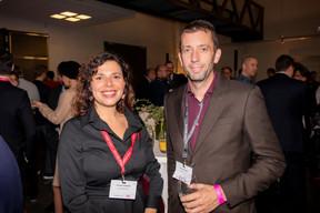 Aurélie Chianese (Maison Moderne) et Iain Hackston (Freo Group) ((Photo: Jan Hanrion / Maison Moderne))