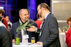Christophe Biraud (Union des démocrates et indépendants Thionville/Moselle) et Erik Chapier-Maldague (Versusconsulting) ((Photo: Jan Hanrion / Maison Moderne))