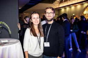Natalia Petrovova (Eurostat) et Sebastien Morand (Accenture) ((Photo: Jan Hanrion / Maison Moderne))