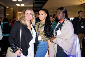 Larissa Thomma (Imperium Real Estate), Mariam Diarra (Mariam Diarra) et Danielle Sallagnac (Imperium Real Estate) ((Photo: Jan Hanrion / Maison Moderne))