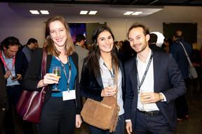 Martha Launay (Keyteo), Julie Maillard (EY) et Raphael Morisot (ArcelorMittal) ((Photo: Jan Hanrion / Maison Moderne))