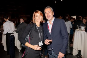 Melanie Delannoy (GovSat) et Matthieu Croissandeau (Maison Moderne) ((Photo: Jan Hanrion / Maison Moderne))