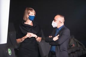 Mélanie Delannoy et Francis Gasparotto (Maison Moderne) ((Photo: Simon Verjus/Maison Moderne))