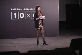 Julie Lhardit (Paperjam + Delano Club) ((Photo: Simon Verjus/Maison Moderne))