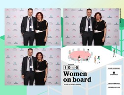 Allan Gonzalez (Talentskills) et Anne Watrin (Belval Business Center) ((Photo: photobooth.lu))