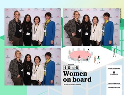 Caroline Lamboley (Lamboley exclusive Search), Norma Bello-Cortes (Jes'udio Mina) , Genevieve Chabot (Pami Luxembourg) et Florence Lemeer-Wintgens (Look@Work) ((Photo: photobooth.lu))