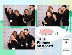 Ellen Kimber, Monika Lebkowska (SES), Mélanie Delannoy (Mélanie2Lannoy) et Violetta Kuvaeva (SES) ((Photo: photobooth.lu))