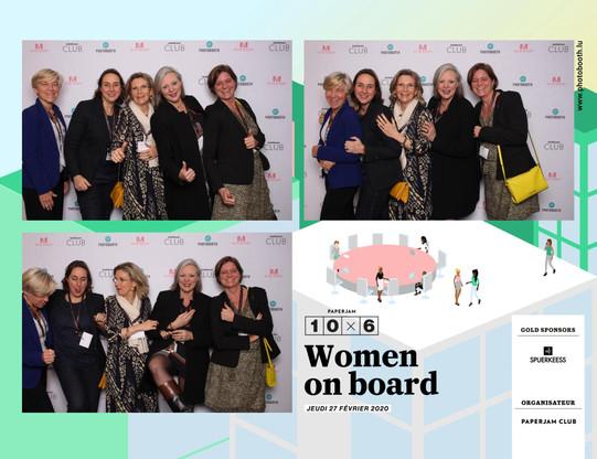Sylvie Marquant (Reginella), Anouk Thill (A+T Architecture), Virginie Michielsen (Fedil), Sonia Franck (LBAN) et Sophie Lafleur (Mandeleo) (Photo: photobooth.lu)