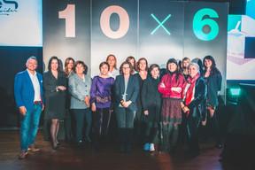 Pedro Castilho (Verbalius), Katia Gauzès (Clifford Chance), Aude Lemogne (Link Management), Michèle Detaille (No-Nail boxes), Isabelle Weill (De La Cour Au Jardin and CCMBenchmark), Agnieszka Zajac (Odgers Berndston), Véronique faber (radio 100.7), Carine Feipel (Etude Carine Feipel), Erica Silvia Monfardini (Université du Luxembourg), Patrizia Luchetta (Foundry Luxembourg), Françoise Thoma (Spuerkeess), Mélanie Delannoy (Melanie 2Lannoy),Marie-Jeanne Chèvremont-Lorenzini (Independent Director) et Julie Lhardit (Maison Moderne) ((Photo: Arthur Ranzy))