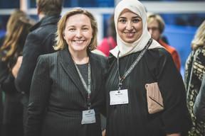 Monique Bachner (Bachner Legal) et Najia Belbal (NBL) ((Photo: Arthur Ranzy))