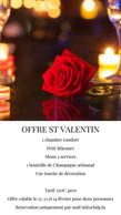 L'offre de Saint-Valentin 2021 de l'Hostellerie du Grünewald. ((Photo: DR))