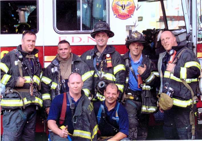 Le Squad n°1 FDNY de Brooklyn a bénéficié d'un beau soutien luxembourgeois. (Photo: Marcde Bourcy)