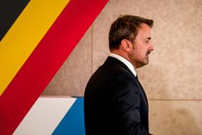 Le Premier ministre Xavier Bettel. ((Photo: Nader Ghavami))