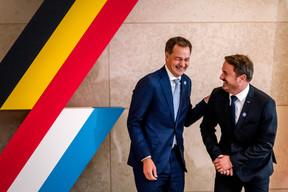 La bonne entente entre les deux chefs de gouvernement. ((Photo: Nader Ghavami))