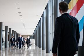 Xavier Bettel attend son homologue belge. ((Photo: Nader Ghavami))