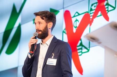 La levée de fonds d'Oko, start-up vue à Luxembourg dans le cadre de Catapult, va permettre à Simon Schwall de travailler sur sa solution et d'attaquer un troisième marché, la Côte d'Ivoire. (Photo: Anthony Dehez/archives)