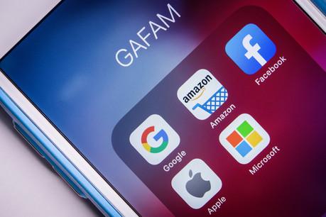 L'idée d'un impôt mondial minimal vise surtout les pratiques des Gafam tentant d'éluder l'impôt. (Photo: Shutterstock)