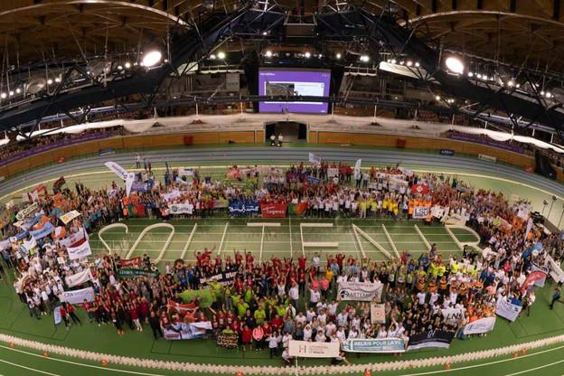 13.000 coureurs se sont relayés pendant 25 heures. (Photo: Relais pour la vie/Claude Piscitelli)