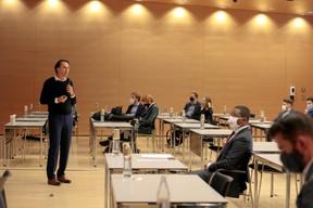 Candi Carrera (Country Manager, Microsoft Luxembourg). ((Photo: Matic Zorman / Maison Moderne))