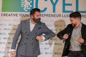 Pierre-Olivier Rotheval (BIL) et Tom Michels (Salonkee), grand gagnant du concours ((Photo: Matic Zorman / Maison Moderne))