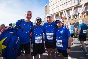 Une ambiance festive pour la 14e édition de l'ING Night Marathon. ((Photo: Nader Ghavami))