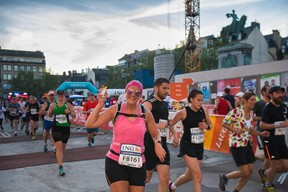 16.000 sportifs ont foulé le bitume. ((Photo: Nader Ghavami))