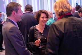 Alex Reding et Christiane O'Donnell ((Photo: Éric Chenal))