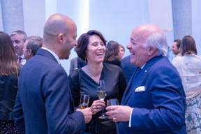 Atman Haloui (Atoz Services), Christiane O'Donnell et Norbert Becker ((Photo: Éric Chenal))