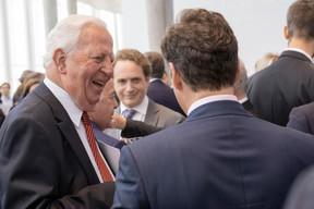 À gauche, Jacques Santer ((Photo: Éric Chenal))