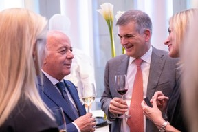 Norbert Becker et Claude Marx (directeur de la CSSF) ((Photo: Éric Chenal))