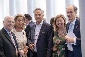 À gauche, Thierry et Marie-Françoise Glaesener, Jo Kox (Ministère de la Culture) ((Photo: Éric Chenal))