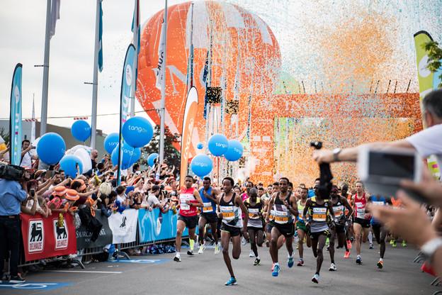 Outre les athlètes, de nombreux coureurs amateurs seront sur la ligne de départ. (Photo: Nader Ghavami/Archives Paperjam)
