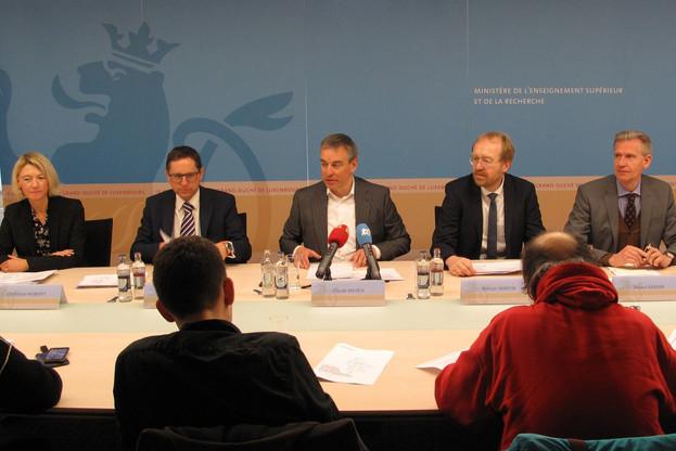 Claude Meisch, ministre de l'Enseignement supérieur et de la Recherche depuis 2018, a l'ambition de hisser l'investissement du Luxembourg dans la recherche et l'innovation à 1% du PIB. (Photo: MESR)