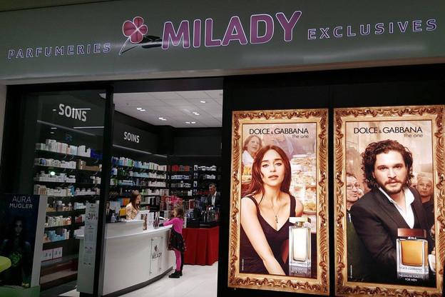 Milady est une chaîne familiale luxembourgeoise fondée en 1983 active dans la parfumerie de luxe. Elle a réalisé en 2018 un chiffre d'affaires de près de 10 millions d'euros. (Photo: Facebook /Parfumeries Milady)