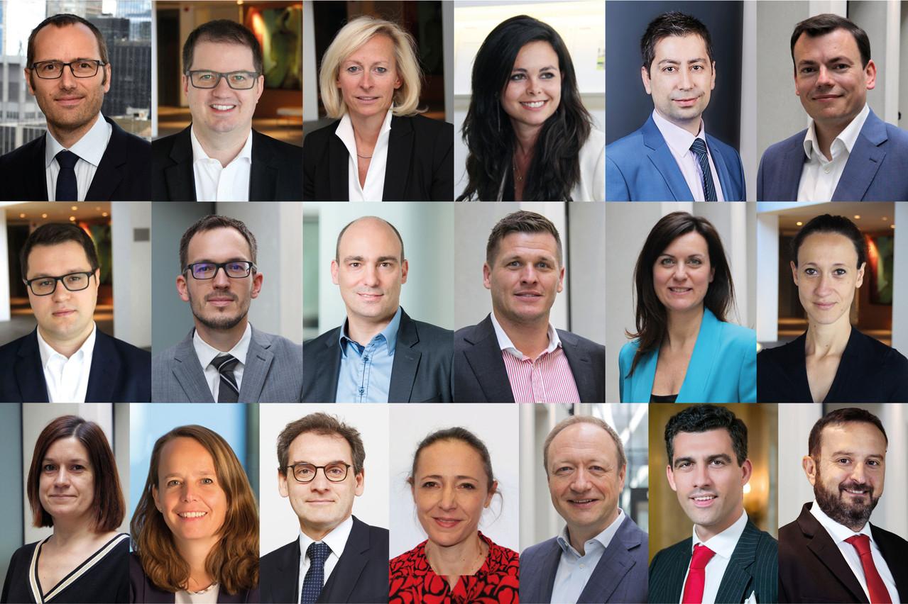 Voici les 19personnes récemment nominées chez Deloitte Luxembourg. 17 partenaires et deux directeurs généraux. (Photo: Deloitte)