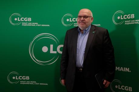 Patrick Dury, président du LCGB, fera son discours du 1 er  mai à Remich, comme il est de tradition. (Photo: Matic Zorman/Archives Paperjam)