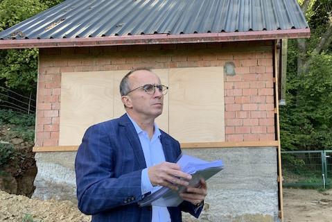 Roberto Traversini ignorait que son cabanon se situait en zone Natura2000. (Photo: Paperjam)
