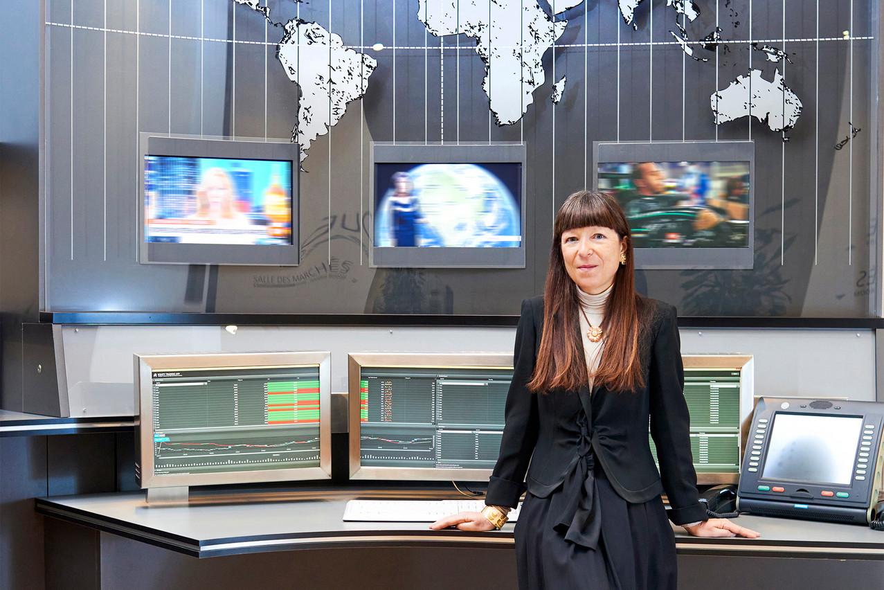 Françoise Thoma cherche à mettre en avant la créativité, dans la banque comme dans sa vie privée. (Photo: Andrés Lejona/Maison Moderne)