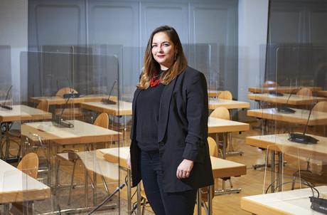Nora Back a rapidement importé son style dans les plus hautes sphères de l'OGBL. (Photo: Andrés Lejona/Maison Moderne)